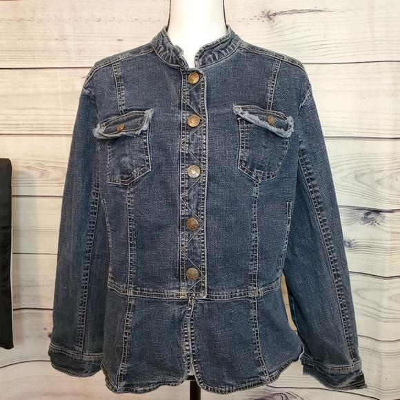 Women's A.M.I Brand 1X Jean Jacket/156